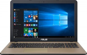 "(1008924) Ноутбук Asus R540SA-XX036T Intel Celeron N3050, 2Gb, 500Gb, Intel HD Graphics, 15.6"", HD (1366x768), Windows 10, Black, WiFi, BT, Cam, (90NB0B31-M00840)"