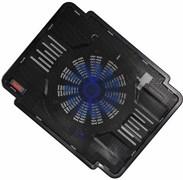 "(1008923) Подставка Buro BU-LCP140-B114 14""335x265x23мм 1xUSB 1x 140ммFAN металлическая сетка/пластик черный"