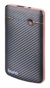 (1008919) Мобильный аккумулятор Buro RA-4000 Li-Pol 4000mAh 1A черный 1xUSB