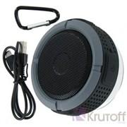 (1008989) Портативная влагозащищенная колонка C6 (Bluetooth, FM-радио, microSD, микрофон, крепление на руль) черная
