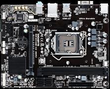 (1009020) Материнская плата Gigabyte GA-H110M-S2 Soc-1151 Intel H110 2xDDR4 mATX AC`97 8ch(7.1) GbLAN+VGA+DVI