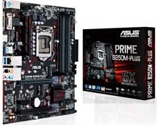 (1009080) Материнская плата Asus PRIME B250M-PLUS Soc-1151 Intel B250 4xDDR4 mATX AC`97 8ch(7.1) GbLAN+VGA+DVI
