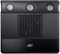 """(105477)  Подставка охлаждающая DeepCool M3 Green с 2.1 аудиосистемой (до 15,6"""",140мм вентилятор)"""