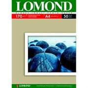 (1009108) Фотобумага Lomond 0102142 A4/170г/м2/50л./белый глянцевое для струйной печати