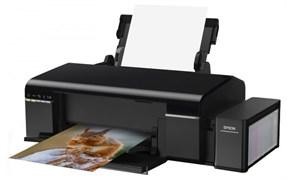 (1009113) Принтер EPSON L805, струйный, цвет: черный [c11ce86403] {A4, 5760 x 1440 dpi, 38 стр/мин, WiF, USB 2.0}