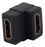 (1007809) Адаптер удлинительный Siemax HDMI (f)/HDMI (f) черный
