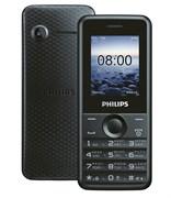 """(1009178) Мобильный телефон Philips E103 Xenium черный моноблок 2Sim 1.77"""" 128x160 0.3Mpix BT"""
