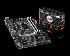 (1009172) Материнская плата MSI B250M BAZOOKA Soc-1151 Intel B250 4xDDR4 mATX AC`97 8ch(7.1) GbLAN