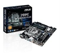 (1009170) Материнская плата Asus PRIME H270M-PLUS Soc-1151 Intel H270 4xDDR4 mATX AC`97 8ch(7.1) GbLAN RAID+VG