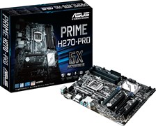 (1009169) Материнская плата Asus PRIME H270-PRO Soc-1151 Intel H270 4xDDR4 ATX AC`97 8ch(7.1) GbLAN RAID+VGA+D