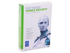 (1009205) ПО Eset NOD32 Mobile Security 3ПК/1 год (12мес) (NOD32-ENM2-NS(BOX)-1-1 )