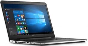 """(1009201) Ноутбук Dell Inspiron 5759, Pentium 4400U, 17.3"""" HD+, 4Gb, 500Gb, Wi-Fi, Bluetooth, CAM, Linux, Silver (5759-0261)"""