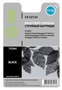 (1009213) Картридж струйный Cactus CS-CZ133 №711 черный для HP DJ T120/T520 (73мл)