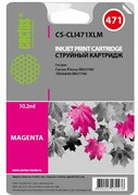 (1009245) Картридж струйный Cactus CS-CLI471XLM пурпурный для Canon MG5740/MG6840/MG7740