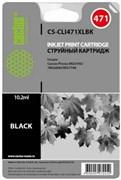 (1009242) Картридж струйный Cactus CS-CLI471XLBK фото черный для Canon MG5740/MG6840/MG7740