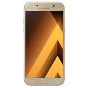 "(1009299) Смартфон Samsung SM-A520F Galaxy A5 (2017), Exynos 7880, 3gb, 32gb, 5.2"", AMOLED (1920x1080), Android 5.1, Gold, 3G, 4G/LTE, WiFi, GPS/ГЛОНАСС, BT, NFC, Cam, 3000mAh (SM-A520FZDDSER)"