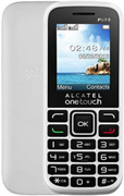 "(1009288) Мобильный телефон Alcatel One Touch 1016D SC6531DA, 1.8"", TFT (128x160), Pure White, 400mAh (1016D)"