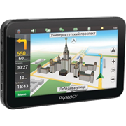 """(1009285) Навигатор Автомобильный GPS Prology iMAP-5800 5"""" 480x272 4Gb SD черный Navitel"""