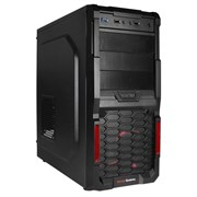 (1009279) Корпус Aerocool MC3 черный без БП ATX 3x120mm 2xUSB2.0 1xUSB3.0 audio bott PSU