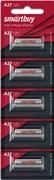 (1009344) Батарейка Smartbuy A27, Alkaline, 12V, 1 шт. в упаковке (SBBA-27A5B)