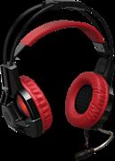 (1009343)  Гарнитура Defender Redragon Lester игровая, красная/черная