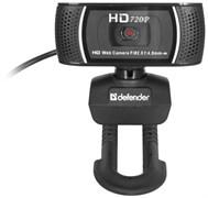 (1009319) Веб-камера Defender G-Lens 2597, 2Mpx, HD720p, автофокус, слежение за лицом