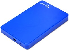 "(1009268) Внешний корпус 2.5"" Gembird EE2-U2S-40P-B, синий, USB 2.0, SATA, пластик"