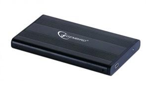"""(1009265) Внешний корпус 2.5"""" Gembird EE2-U2S-5, черный, USB 2.0, SATA"""