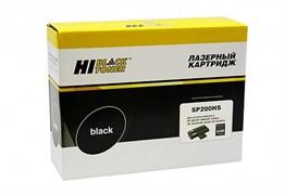 (1009401) Картридж Hi-Black SP200HS для Ricoh Aficio SP200N/SP202SN/SP203SFN (Hi-Black) SP200HS, 2,6K