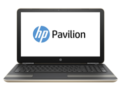 "(1009416) Ноутбук HP Pavilion 15-au128ur Core i3 7100U, 4Gb, 1Tb, DVD-RW, Intel HD Graphics 620, 15.6"", HD (1366x768), Windows 10 64, gold, WiFi, BT, Cam (Z6K54EA)"