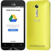 "(1009446) Смартфон Asus Zenfone Go ZB450KL MSM8916, 1Gb, 8Gb, 4.5"" TFT (480x854) Android 6.0, желтый моноблок, 3G/4G, Wi-Fi, Bt, GPS, Cam 8Mpix, 2070мАч, microSD max128G (90AX0094-M00390)"