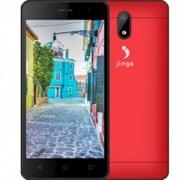 """(1009507) Смартфон Jinga A502 красный SC7731С 4х1.2GHz, Mali-400 MP2, 512Mb, 4Gb, 5"""" (854x480), Android 6.0, 3G, WiFi, BT, GPS, 2Sim, 2000mAh (JA502BRD)"""