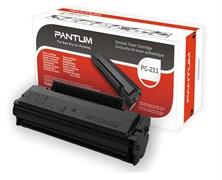 (1009505) Pantum PC-211EV  обновленный тонер-картридж для устройств Pantum P2200/P2207/P2507/P2500W/M6500/M6550/M6607, 1600 стр.