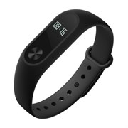 (1009521) Фитнес-браслет Xiaomi Mi Band 2 black {Android 4.4, iOS 7, Windows Phone,Bluetooth 4.0 LE}