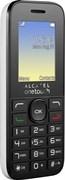 "(1009519) Мобильный телефон Alcatel One Touch 1020D Pure White , 1.77"", 128x160, 32МБ, FM, MP3, Светодиодный фонарик, 2 sim,без ЗУ"