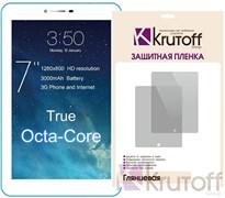 """(1009644) Пленка защитная Krutoff Group универсальная 7"""" глянцевая"""
