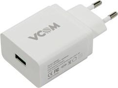 (1009346) Универсальное сетевое зарядное устройство VCOM M042, для мобильных устройств, USB Type-C, QC3.0, RTL