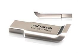 (122359) Накопитель USB Flash  16Gb ADATA UV130 (AUV130-16G-RGD), USB2.0, Золотисто-палевый, RTL