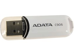 (78698) Накопитель USB Flash  16Gb ADATA C906 (AC906-16G-RBK), USB2.0, Black, RTL