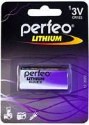 (1009685) Батарейка Perfeo CR123/1BL Lithium