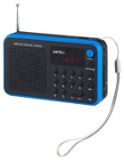 (1009661) Perfeo мини-аудио Sound Ranger, УКВ+FM, MP3 (USB/TF), USB-audio, BL-5C 1000mAh, синий (SV922BLU)