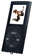 (1009652) Perfeo  цифровой аудио плеер Music I-Sonic, чёрный (VI-M011 Black)  microSD, просмотр видео, FM-тюнер, экран LCD цветной, 1.8 дюйм., время работы до 4 часов, вес: 33 г