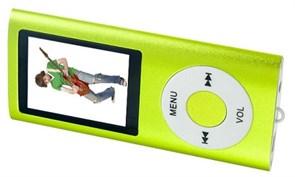 (1009648) Perfeo  цифровой аудио плеер Music I-Sonic, зелёный (VI-M011 Green)  microSD, просмотр видео, FM-тюнер, экран LCD цветной, 1.8 дюйм., время работы до 4 часов, вес: 33 г