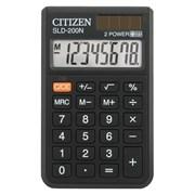 (1009717) Калькулятор карманный Citizen SLD-200N черный 8-разр.