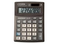 (1009716) Калькулятор настольный Citizen Correct SD-210 черный 10-разр.