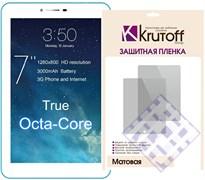 (1009643) Пленка защитная Krutoff Group универсальная 7'' матовая