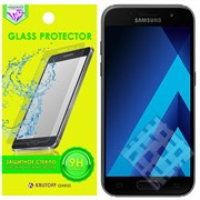(1009619) Стекло защитное Krutoff Group 0.26mm для Samsung Galaxy A3 2017 (SM-A320F)