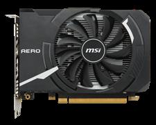 (1009798) Видеокарта MSI PCI-E GTX 1050 AERO ITX 2G OC NV GTX1050 2048Mb 128b GDDR5 1404/7008 DVIx1/HDMIx1/DPx