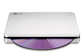 (1009794) Привод DVD-RW LG GP70NS50 серебристый USB ultra slim M-Disk Mac внешний RTL
