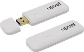 (1009827) Сетевой адаптер USB 3.0 WiFi Upvel UA-382AC ARCTIC WHITE 802.11ac 1200 Мбит/с,  WPS.